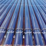 Solar thermal evacuated tubes