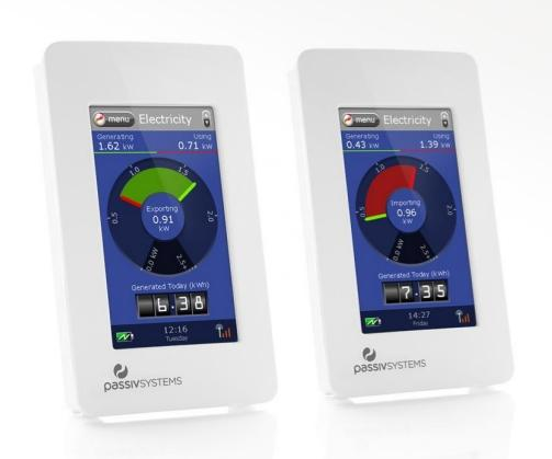 A photo of the PassivSystem smart energy control system
