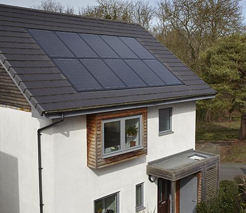 solar panel installation from Solarcentury