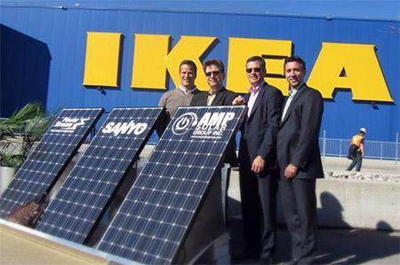 ikea ceos with solar panel