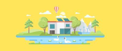 How Do Flat Roof Solar Panels Work?
