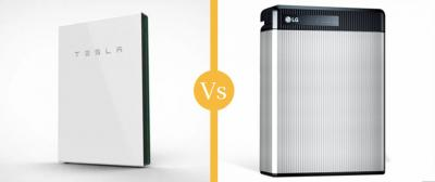 Solar Battery Comparison: Tesla Powerwall vs LG Chem Resu