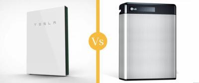 Solar Battery Comparison: Tesla Powerwall vs LG Chem Resu